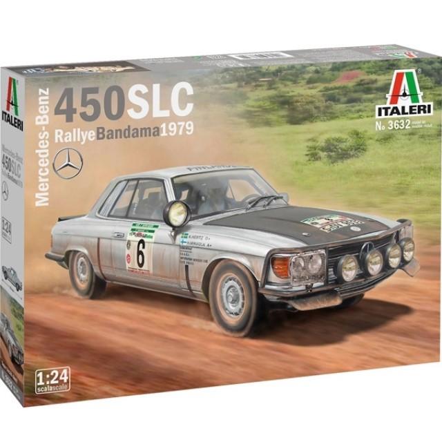 Mercedes Benz 450 SLC Rallye Bandama 1979