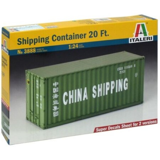 20ft Shipping Container - Super Decal Sheet Included