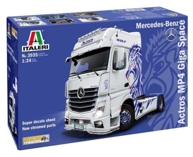 Merc Benz Actros MP4 Giga Space Show Truck