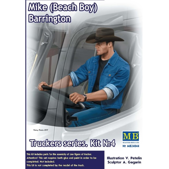 Truckers Series. Mike (Beach Boy) Barrington