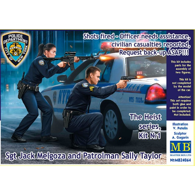 The Heist series, kit #1. Shots fired – Officer needs assistance, civilian casualties