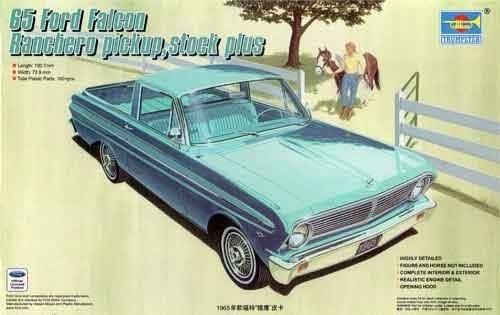 Ford Falcon Ranchero Pick-Up Custom Plus 1965