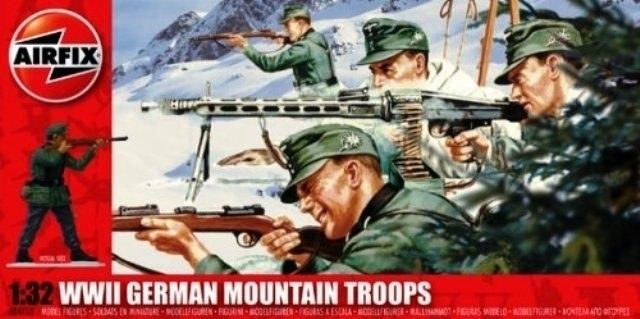 German Mountain Troops.