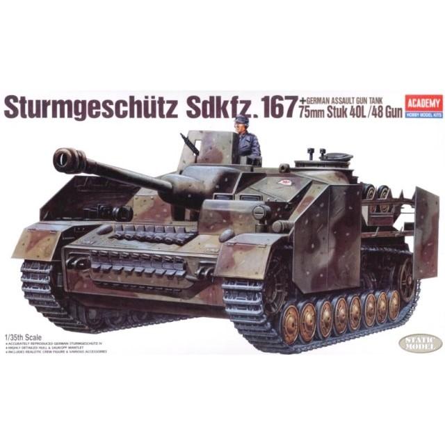 Strumgeschutz Sdkfz. 167 75mm Stuk 40L/48 Gun