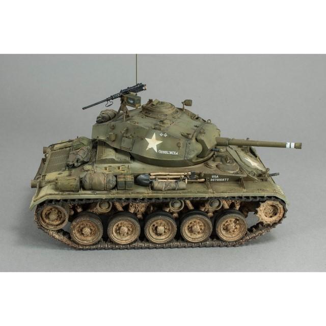 "U.S. M-24 ""Chaffee"" Light Tank In Korean War"