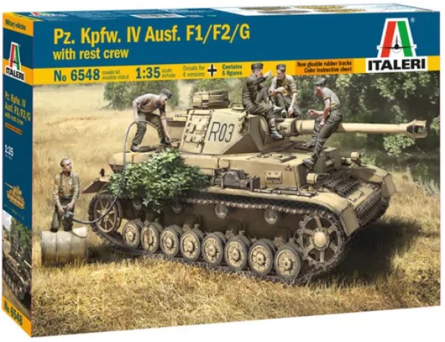 PZ. IV F1 / F2 / G with Assault Troops