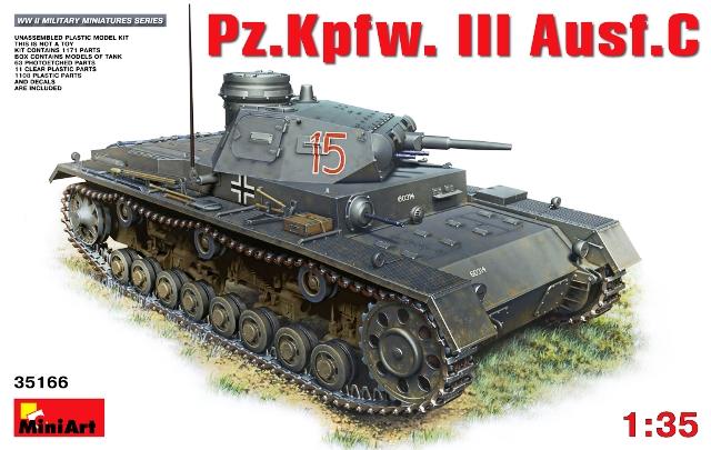 German Pz.Kpfw.III Ausf.C German Medium Tank