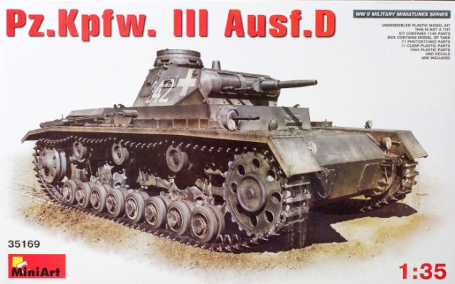 German Pz.Kpfw.III Ausf.D German Medium Tank