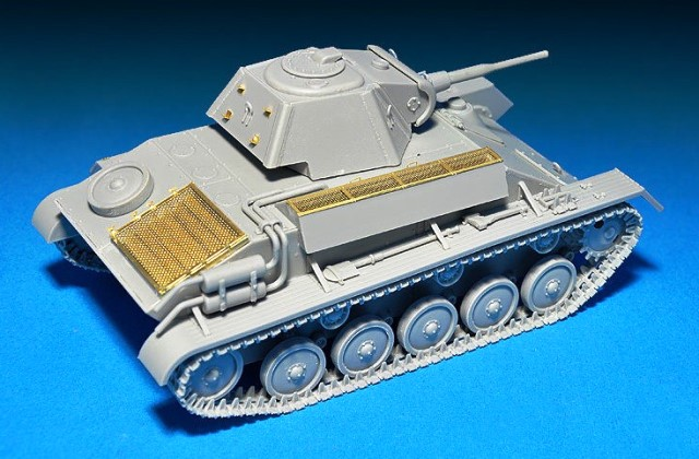 T-70m Soviet Light Tank With Crew. Special Edition