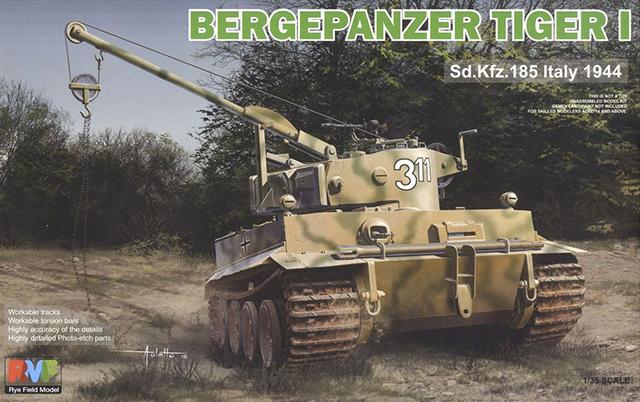 "German Bergepanzer ""Tiger I"" Sd.kfz.185 Italy 1944"