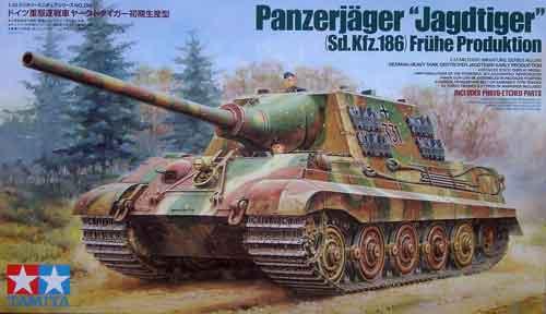 German Sd. Kfz. 186 Jagd Tiger (Early)
