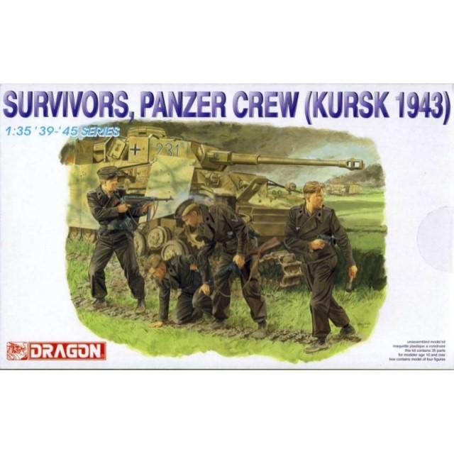 German Survivors. Panzer Crew (Kursk 1943)