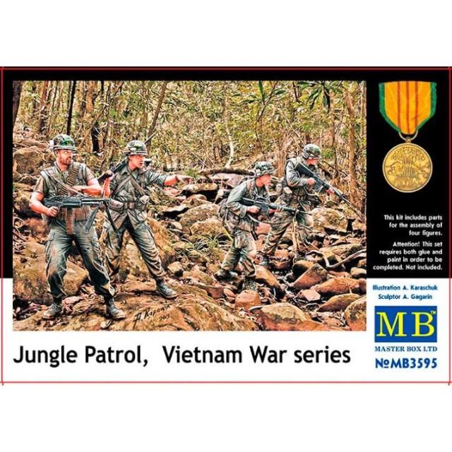 Jungle Patrol Vietnam War Series
