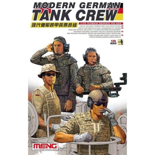 German Modern Tank Crew
