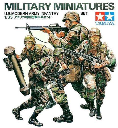 U.S. Modern Army Infanrty Set
