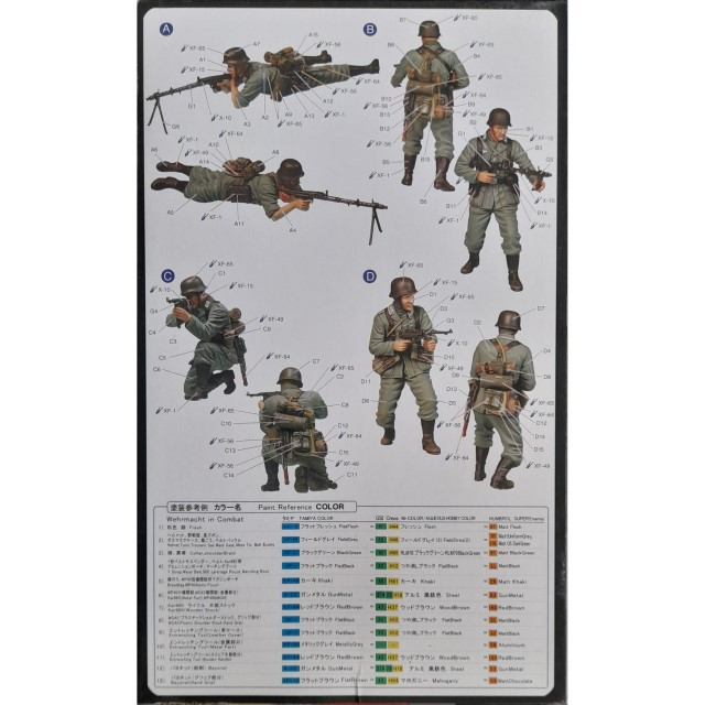 """German Infantry """" The Barrage Wall """" (4 Figures)"""
