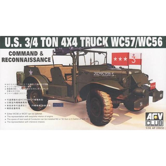 3/4-Ton 4x4 Truck WC57/WC56 Command/Reconnaissance