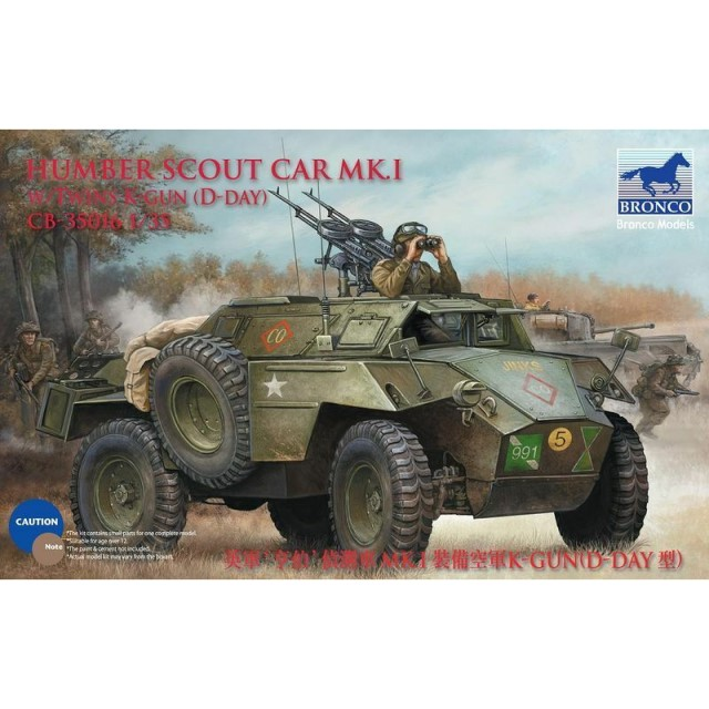 Humber Scout Car Mk.I w/Twin Vickers K-gun (D-Day Version)