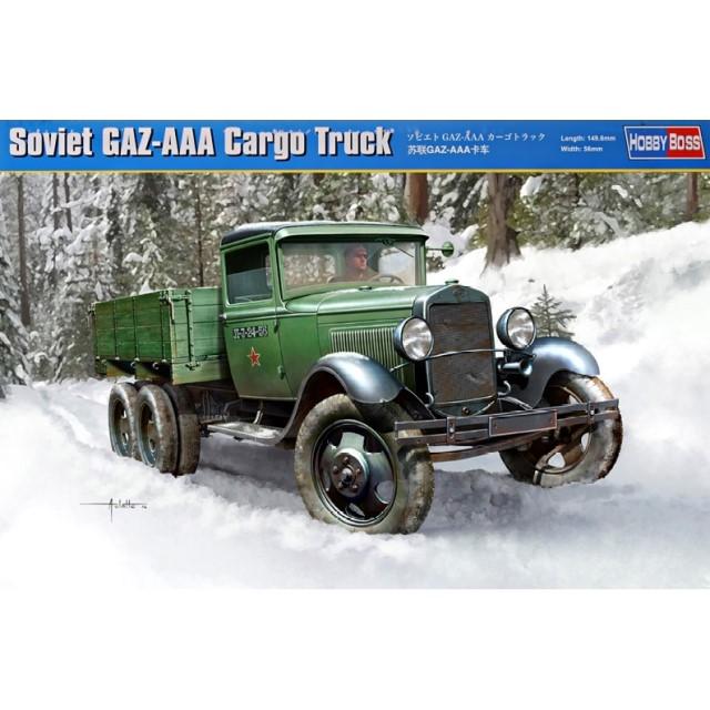 Soviet GAZ-AAA Cargo Truck