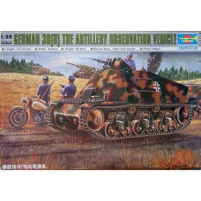 German 38(H) Artillery Observation Vehicle