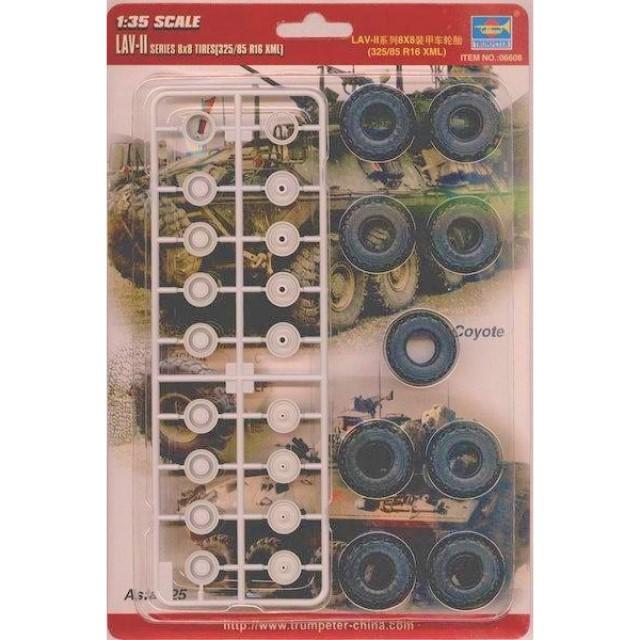 LAV-II Series 8X8 Tires (325/85/R16 XML)