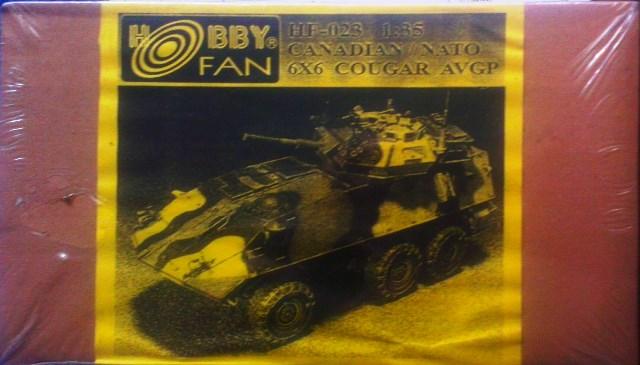 Canadian/Nato 6X6 Cougar AVGP