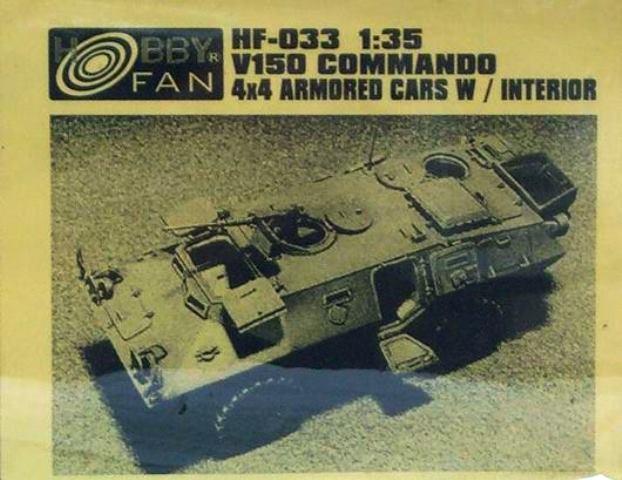 V150 Commando 4x4 Armored Cars with Interior