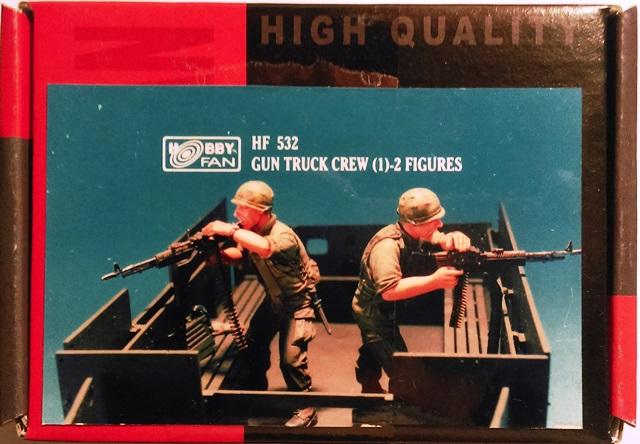U.S. Gun Truck Crew (1) - 2 Figures