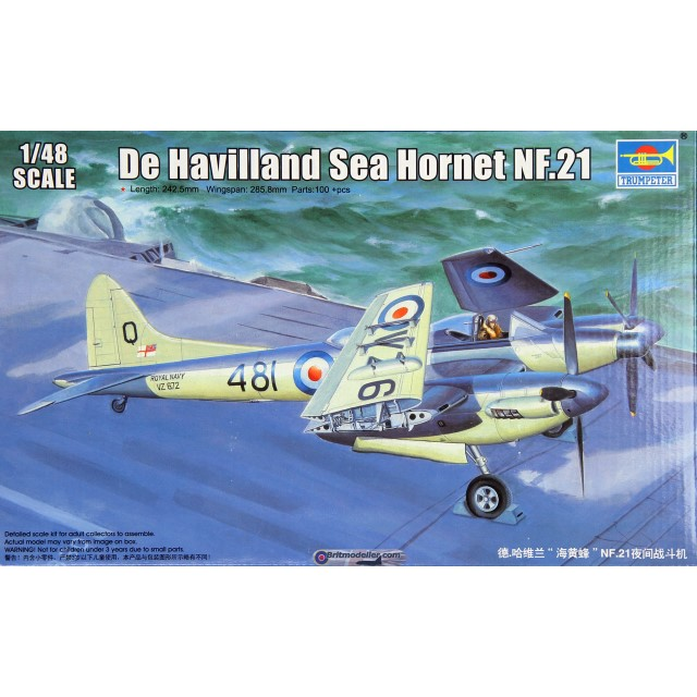 French De Havilland Sea Hornet NF.21