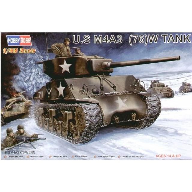 U.S. M4A3 (76)W Tank
