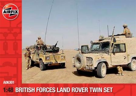 British Forces - Land Rover Twin Set