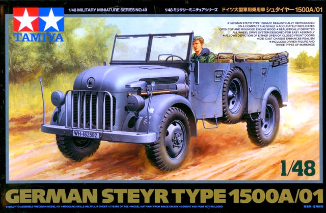 German Steyr Type 1500A/01