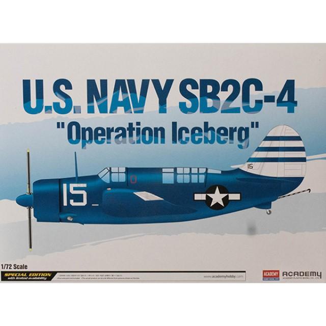 """U.S. Navy SB2C-4 """"Operation Iceberg"""""""