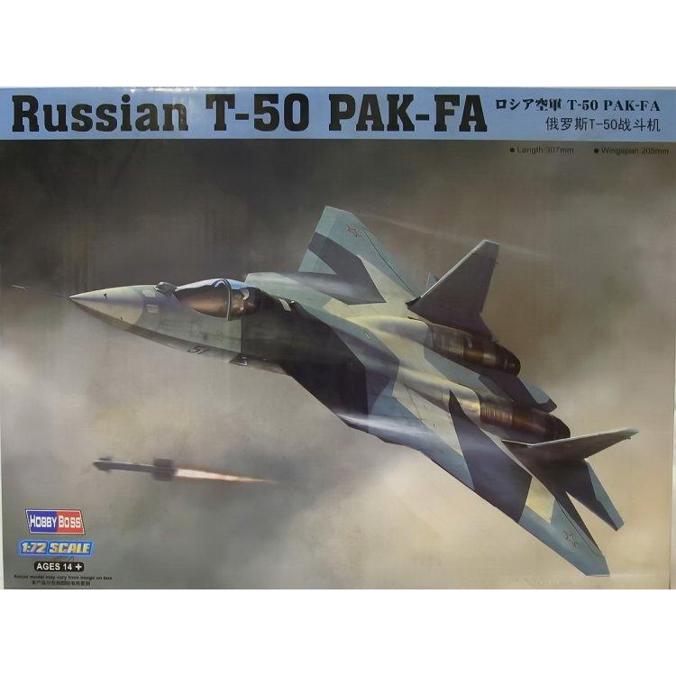 Russian T-50 PAK-FA Fighter