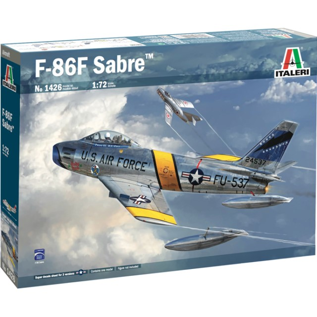 F-86 F Sabre - Super Decal Sheet included
