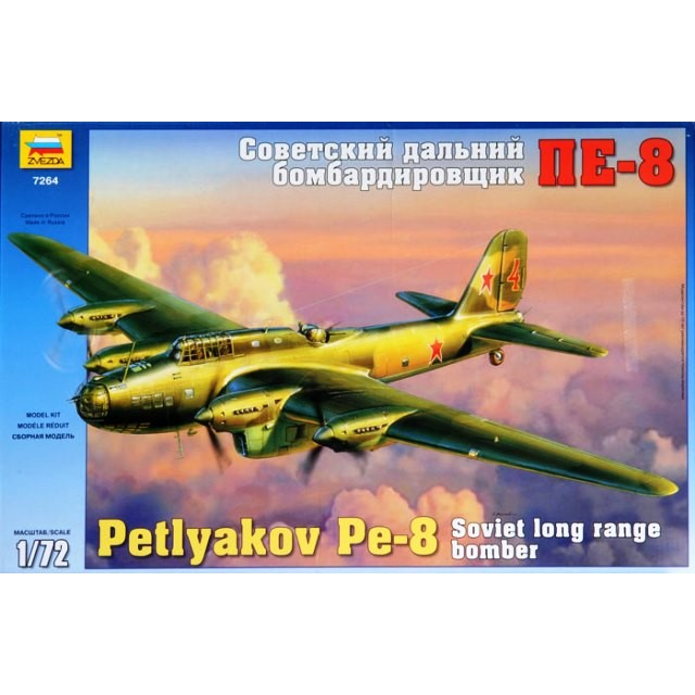 Petlyakov Pe-8 Soviet Long Range Bomber