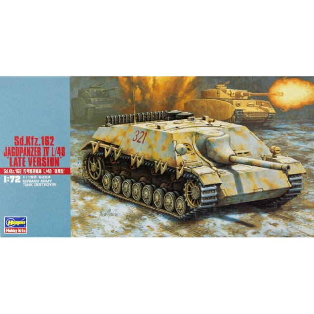 "German Sd. Kfz. 162 Jagdpanzer IV L/48 ""Late Version"""
