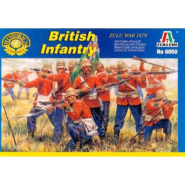 """British Infantry """"Colonial Wars"""""""