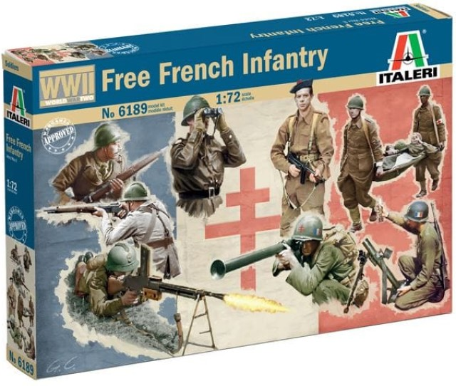 French Infantry WWII