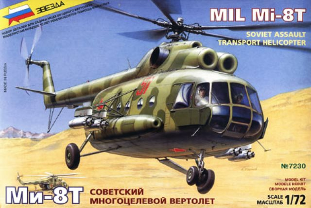 Soviet Multi-Role Helicopter MIL Mi-8T