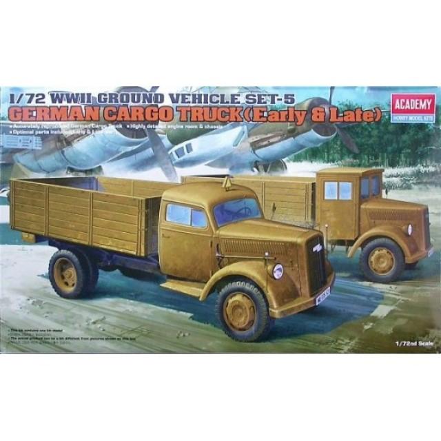 German Cargo Truck