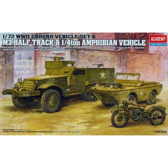M3 U.S. Half Track & 1/4 Ton Amphibian Vehicle