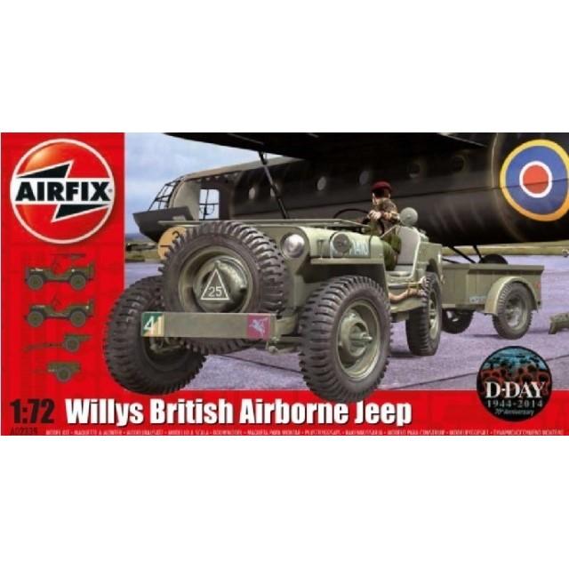 Willys Britsh Airborne Jeep