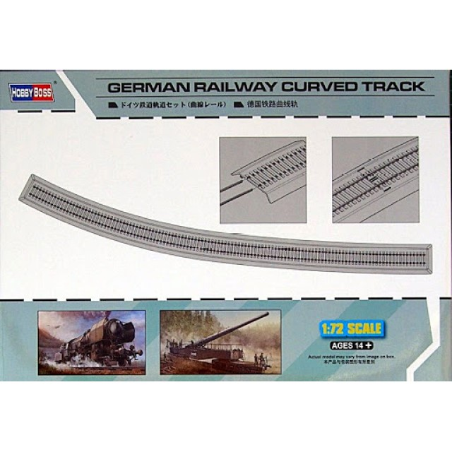 German Railway Curved Track