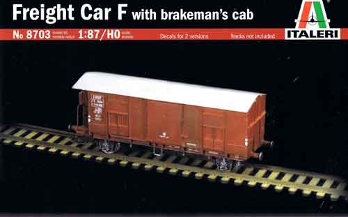 Freight Car with Brakeman's Cab