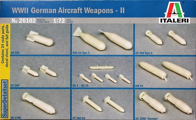 WWII German Aircraft Weapons II