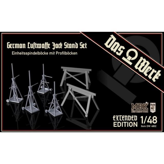 Luftwaffe Jack Stand Set - Extended/Doppelpack