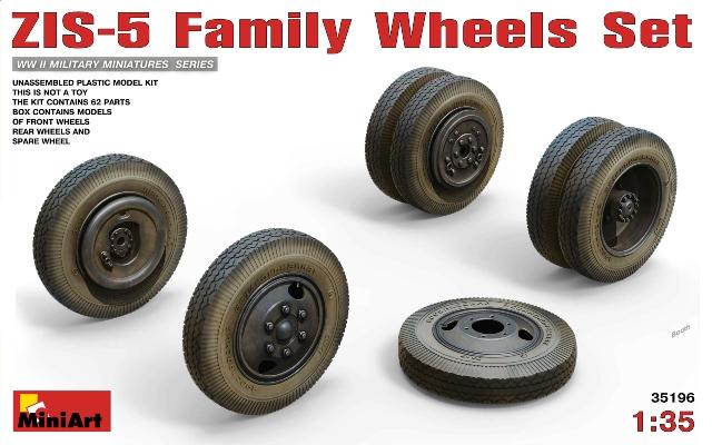 ZIS-6 Family Wheels Set