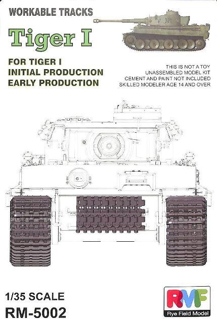 """German Pz.kpfw.VI """"Tiger I"""" Workable Track Set"""