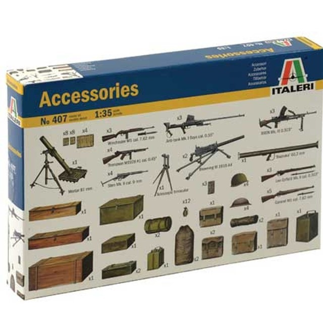 Accessories WWII